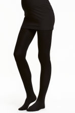 MAMA Tights, 200 denier - Black - Ladies | H&M 1