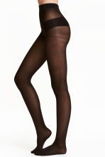 70 denier support tights - Black - Ladies | H&M 1