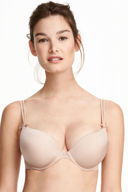 Microfibre super push-up bra