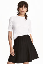 Bell-shaped skirt - Black - Ladies | H&M CN 1