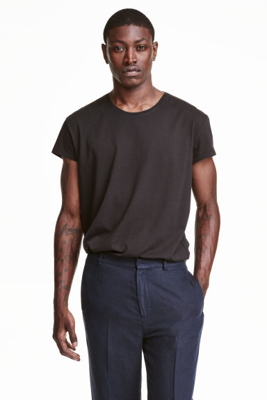 T-shirt - Black - Men | H&M CN 1