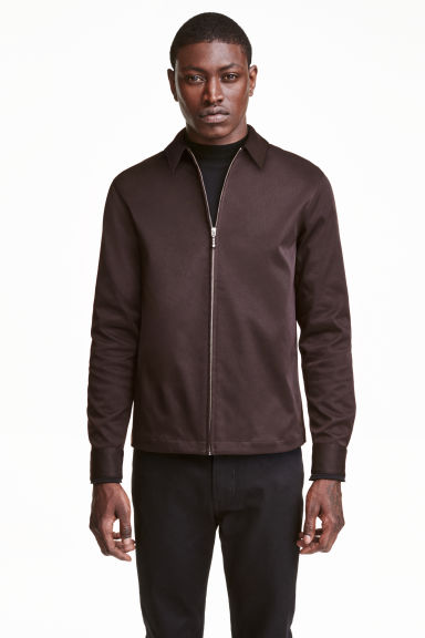 Shirt jacket - Dark brown - Men | H&M CN 1