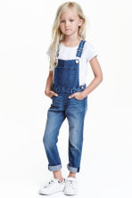 Salopette in denim - Blu denim - BAMBINO | H&M IT 1