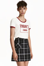A-line skirt - Black - Ladies | H&M GB 1