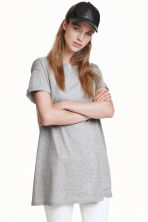Long T-shirt - Grey -  | H&M 2