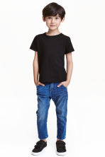 Tapered Worn Jeans - Bleu denim - ENFANT | H&M FR 1