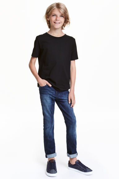 Extreme Flex Jeans - Dark denim blue - Kids | H&M CN 1