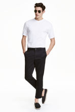 Chinos Slim Cropped - Nero - UOMO | H&M IT 1
