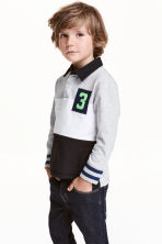 Rugby shirt - Black/Grey - Kids | H&M CN 1