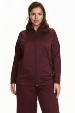 H&M+ Jacket - Burgundy - Ladies | H&M CN 1