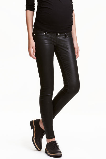 MAMA Skinny Jeans Coated