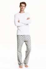 Pyjamas - White/Dogs  - Men | H&M CN 1