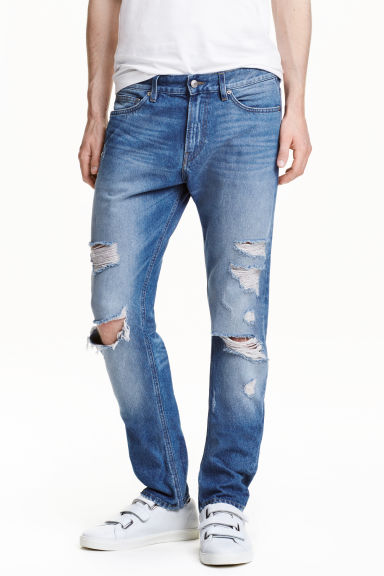 Slim Regular Trashed Jeans