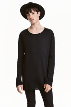 Fine-knit jumper - Black - Men | H&M CN 1
