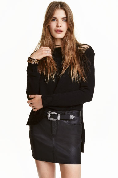 Pullover trashed - Nero -  | H&M IT 1