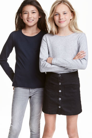 2-pack tops - Grey - Kids | H&M 1
