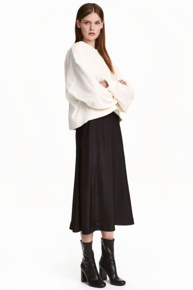 Calf-length skirt - Black - Ladies | H&M CN 1