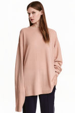 Oversized cashmere jumper - Powder -  | H&M CN 1