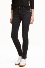 Skinny Regular Jeans - Nero - DONNA | H&M IT 1