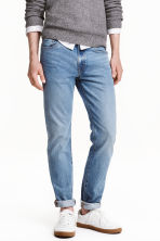 Skinny Regular Jeans - 浅牛仔蓝 -  | H&M CN 1