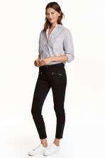 Pantaloni stile biker - Nero - DONNA | H&M IT 1