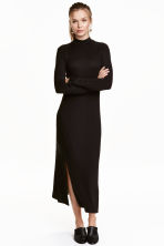 Turtleneck dress - Black - Ladies | H&M CN 1