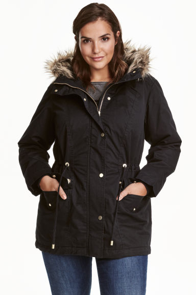 H&M+ Parka - Nero - DONNA | H&M IT