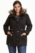 H&M+ Parka - Nero - DONNA | H&M IT 1