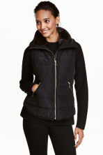 Padded gilet - Black - Ladies | H&M CN 1