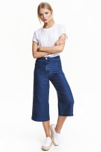 Denim culottes - Denim blue - Ladies | H&M CN 1