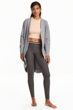 Dressing gown - Grey marl - Ladies | H&M CN 1