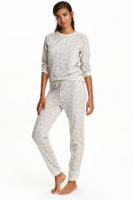 Pyjamas - Light grey/Swallows - Ladies | H&M GB 1