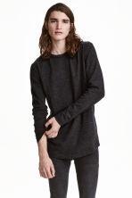 Fine-knit jumper - Dark grey marl - Men | H&M CN 1