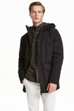 Padded parka - Black - Men | H&M CN 1