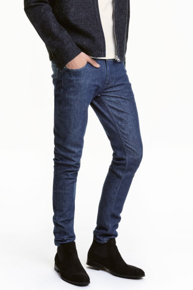 Skinny Low Jeans - Blu denim - UOMO | H&M IT 1