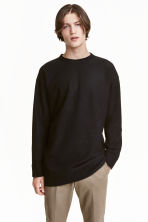 Pullover in misto lana - Nero - UOMO | H&M IT 1