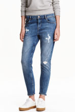 Boyfriend Low Trashed Jeans  - Blu denim - DONNA | H&M IT 1