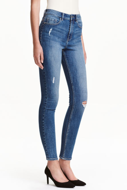 Skinny High Ankle Jeans