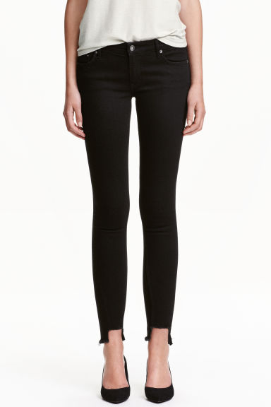 Slim Low Jeans - Nero - DONNA | H&M IT 1