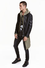 Biker jacket - Black - Men | H&M CN 1
