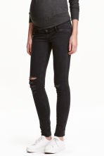 MAMA Skinny Jeans Trashed - Negro - MUJER | H&M ES 1