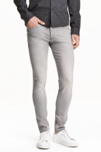 Skinny Low Jeans - Grey - Men | H&M CN 1