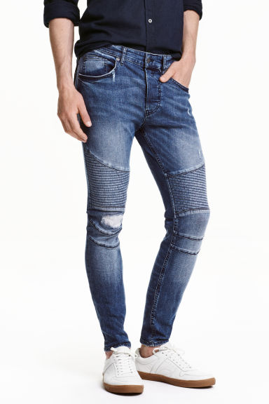 Biker Jeans - Denim blue - Men | H&M CN 1