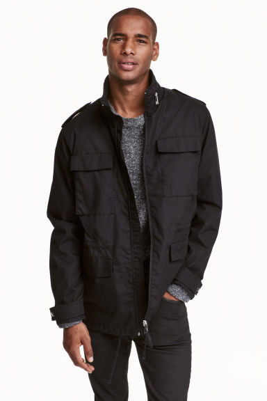 Cotton parka Model