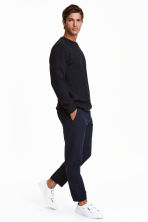 Cropped chinos - Dark blue - Men | H&M CN 1