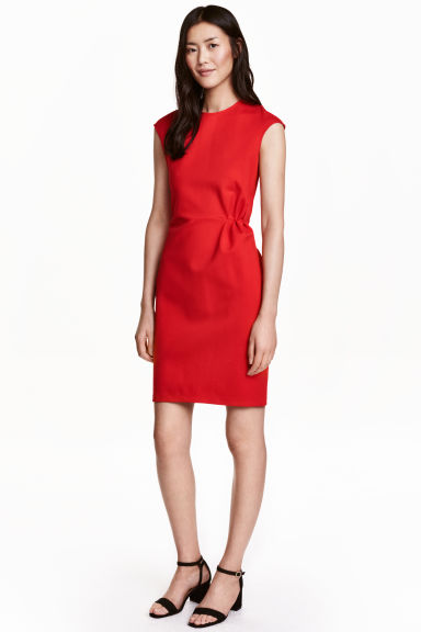 Short dress - Red - Ladies | H&M CA