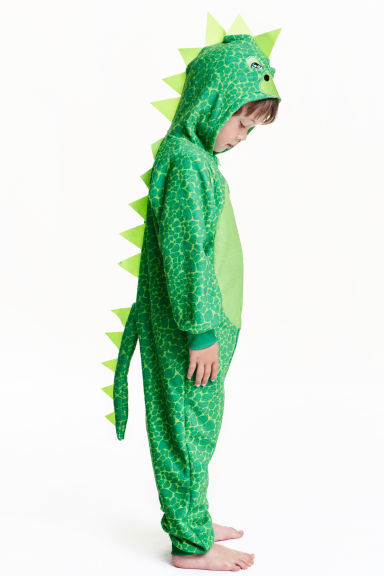 Fancy Dress Costume Green Dinosaur H Amp M Ca