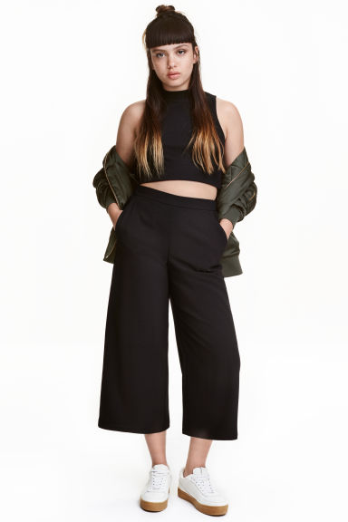 Culottes - Black - Ladies | H&M CA 1