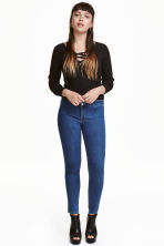 Superstretch jeans - Denim blue retro - Ladies | H&M CA 1