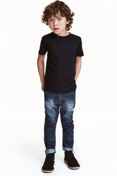Tapered Jeans rinforzati - Blu denim scuro - BAMBINO | H&M IT 1